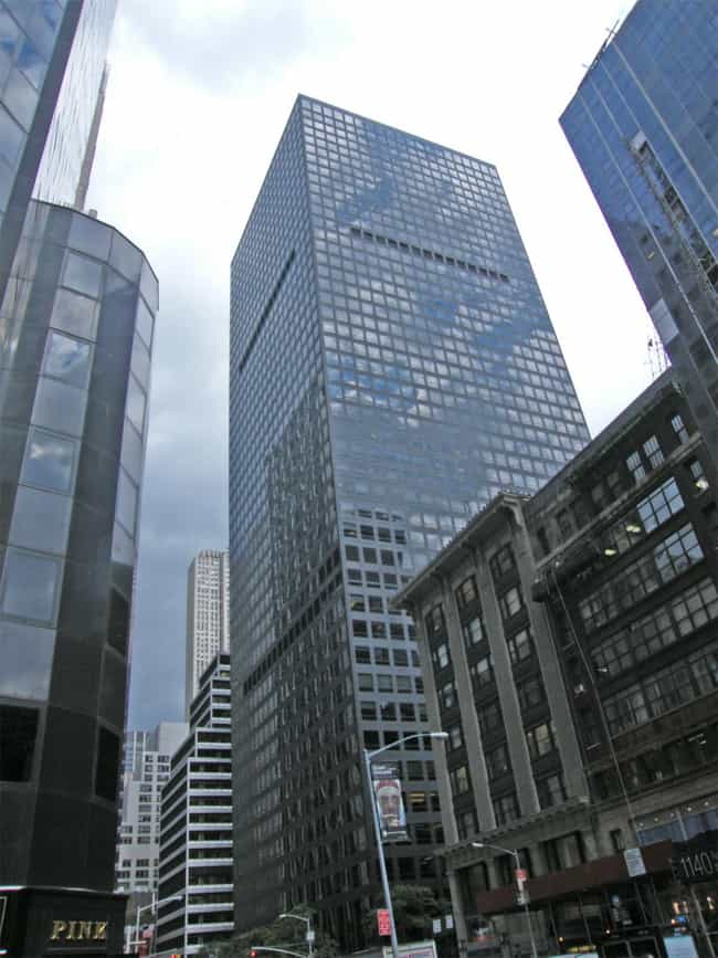 1166 is listed (or ranked) 2 on the list List of Famous Manhattan Buildings & Structures