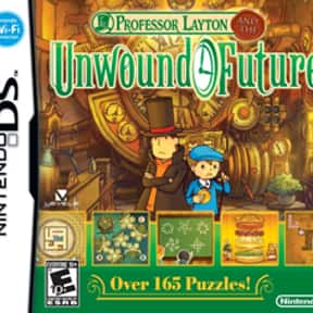 Professor Layton and the Unwou is listed (or ranked) 1 on the list The Best Professor Layton Games