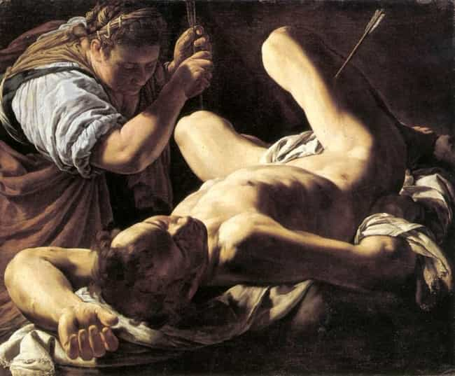 St. Sebastian Tended by St. Ir... is listed (or ranked) 4 on the list Famous Saint Irene of Rome Art