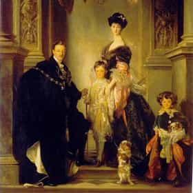 9th Duke of Marlborough and his family