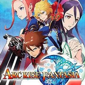 Arc Rise Fantasia is listed (or ranked) 17 on the list List of All Role-playing Games