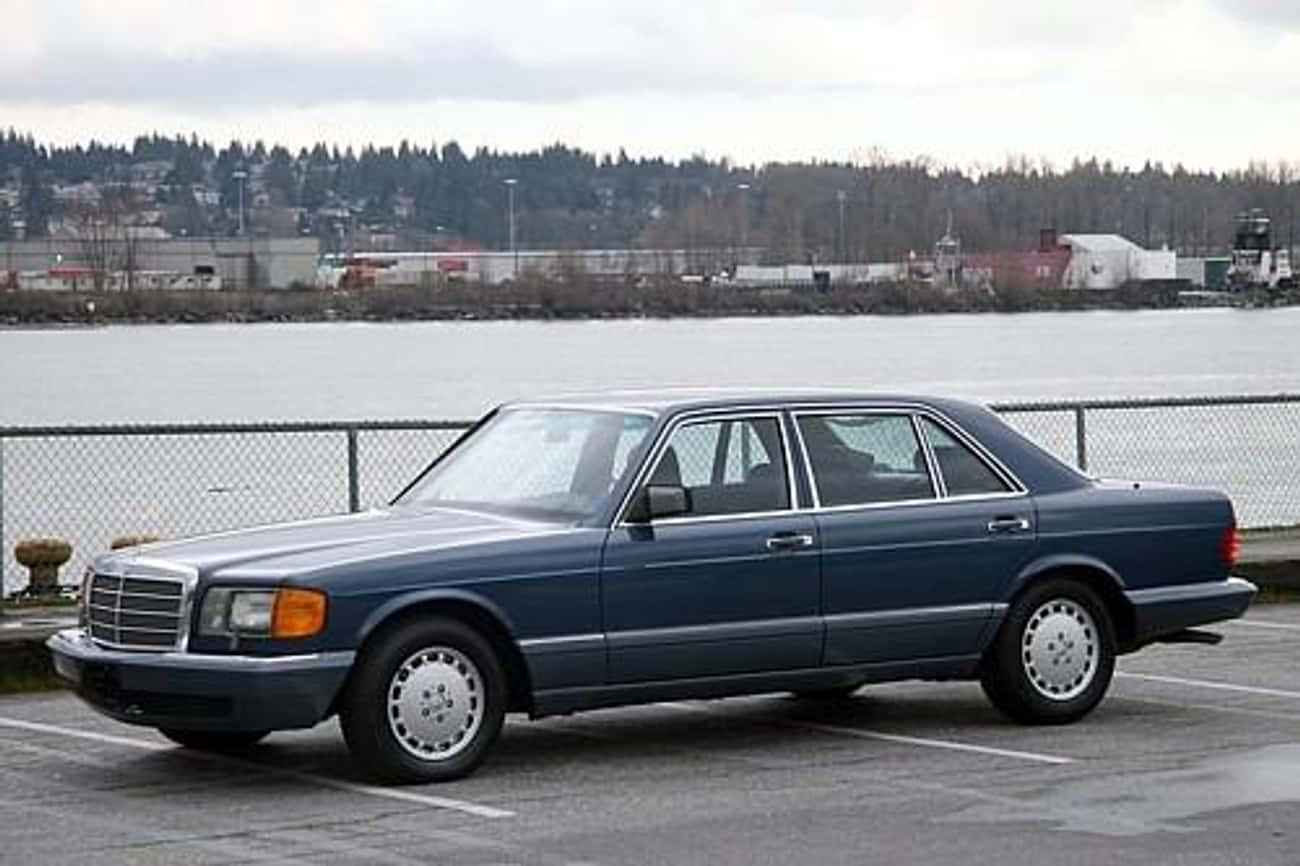 1989 Mercedes-Benz S-Class 560SEL Sedan
