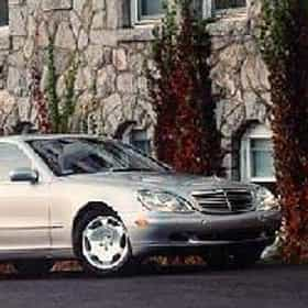 2001 Mercedes Benz S Class S430 Sedan Rankings Opinions