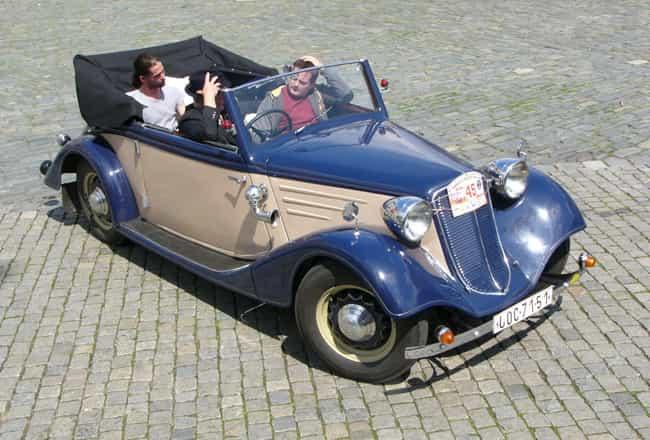Tatra 75 is listed (or ranked) 4 on the list Full List of Tatra Models