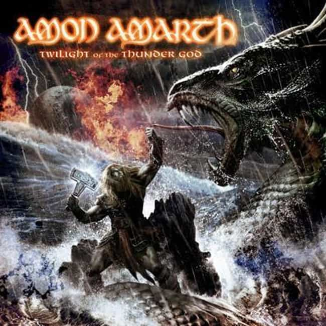 Twilight of the Thunder ... is listed (or ranked) 1 on the list The Best Amon Amarth Albums of All Time