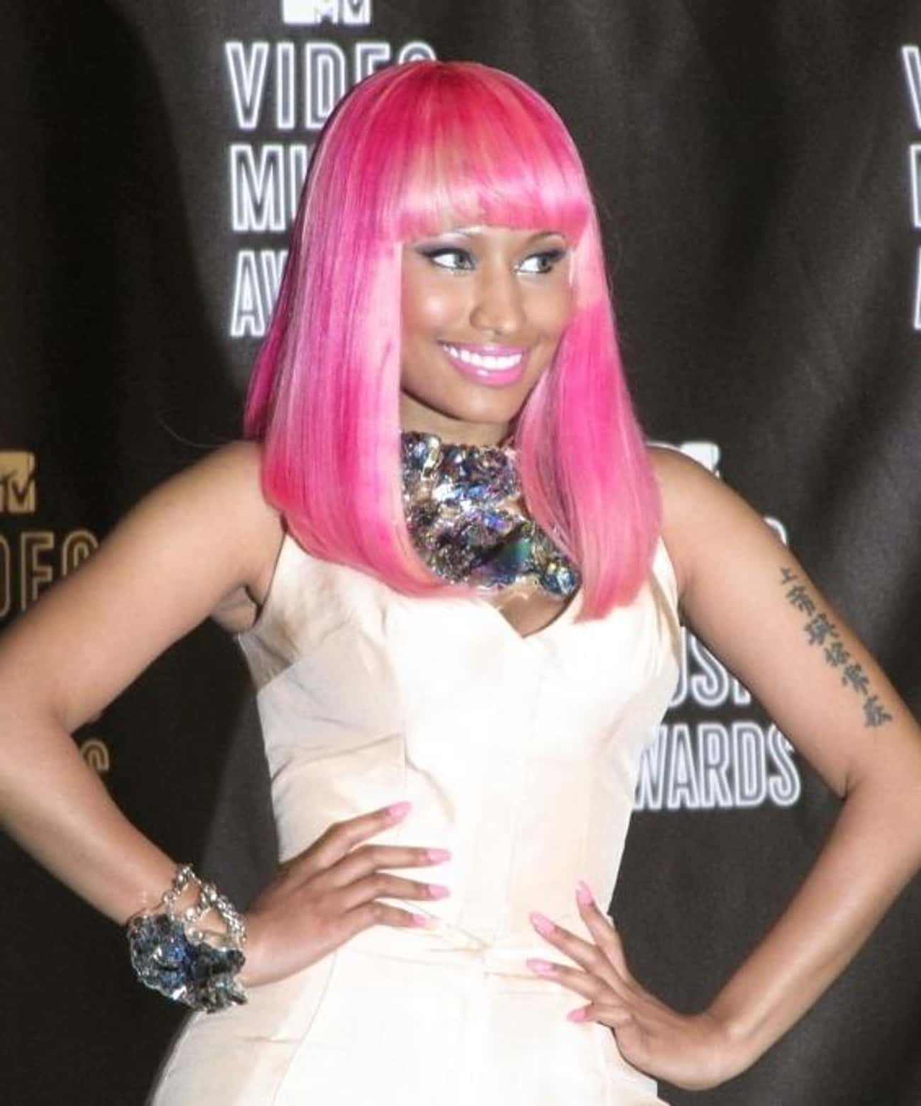 Nicki Minaj is listed (or ranked) 4 on the list Celebs You Didn't Know Aren't American