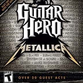 Guitar Hero: Metallica is listed (or ranked) 20 on the list List of All Simulation Video Games