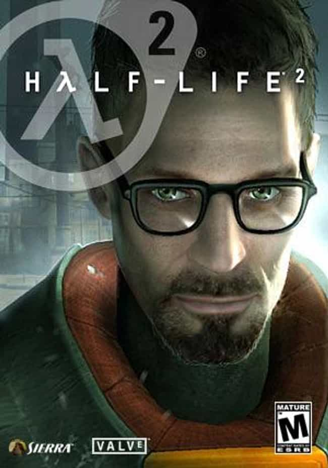 Half-Life 2 is listed (or ranked) 1 on the list The Best Half-Life Games