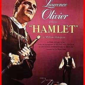 Hamlet is listed (or ranked) 11 on the list The Best Shakespeare Film Adaptations
