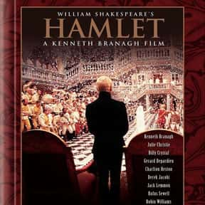 Hamlet is listed (or ranked) 2 on the list The Best Shakespeare Film Adaptations