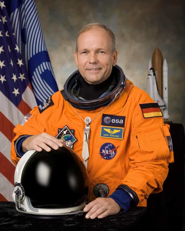 Hans Schlegel is listed (or ranked) 4 on the list Famous Astronauts from Germany