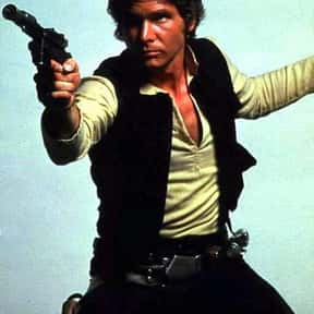 Han Solo is listed (or ranked) 4 on the list The Most Likable Movie Antiheroes