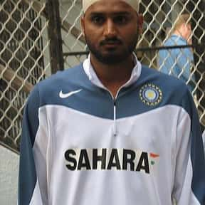 Harbhajan Singh is listed (or ranked) 17 on the list Famous Athletes from India
