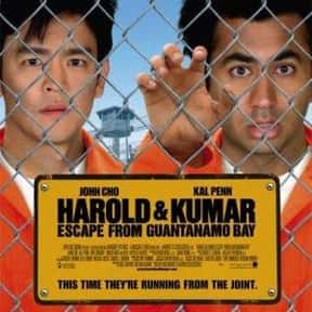 Harold & Kumar Escape from Gua is listed (or ranked) 12 on the list The Best R-Rated Stoner Movies