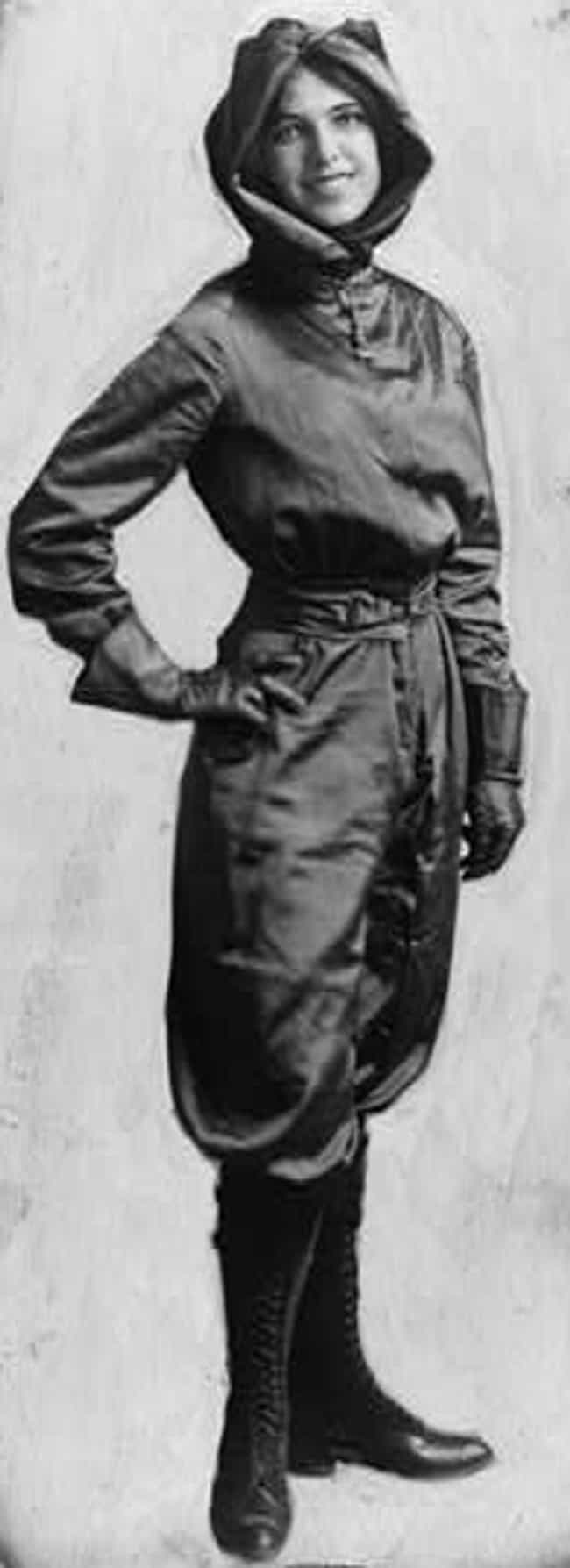 Harriet Quimby is listed (or ranked) 5 on the list Famous Female Aviators
