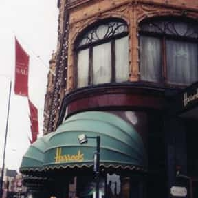 Harrods is listed (or ranked) 5 on the list The Most Quintessential British Brands