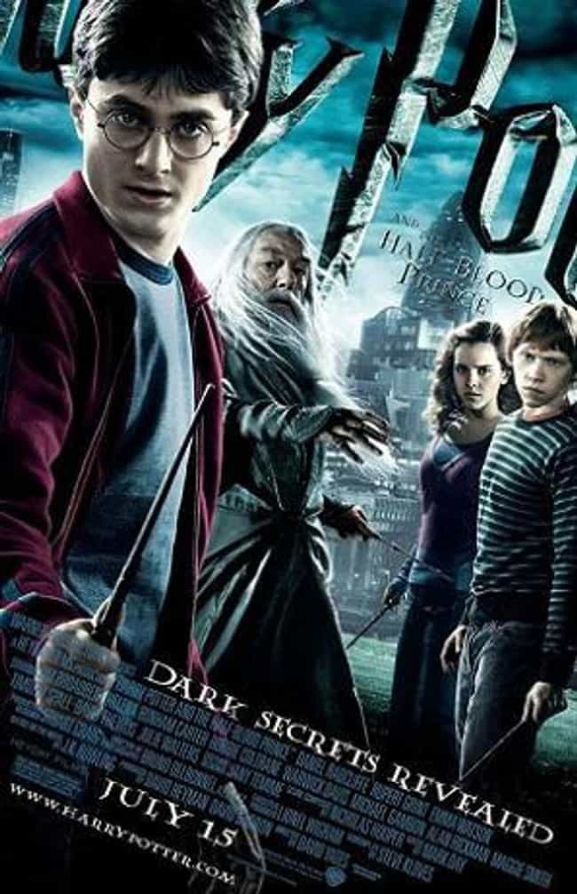 Harry Potter and the Half-Bloo... is listed (or ranked) 3 on the list All Harry Potter Movies, Ranked Best to Worst