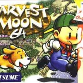 Harvest Moon 64 is listed (or ranked) 6 on the list The Best Nintendo 64 RPGs