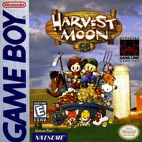 Harvest Moon GB is listed (or ranked) 19 on the list List of All Console Role-playing Games