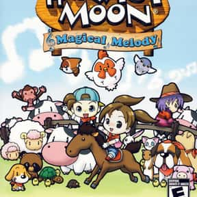 Harvest Moon: Magical Melody is listed (or ranked) 24 on the list The Best GameCube RPGs of All Time, Ranked by Fans