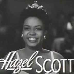Hazel Scott is listed (or ranked) 18 on the list The Greatest Jazz Pianists of All Time