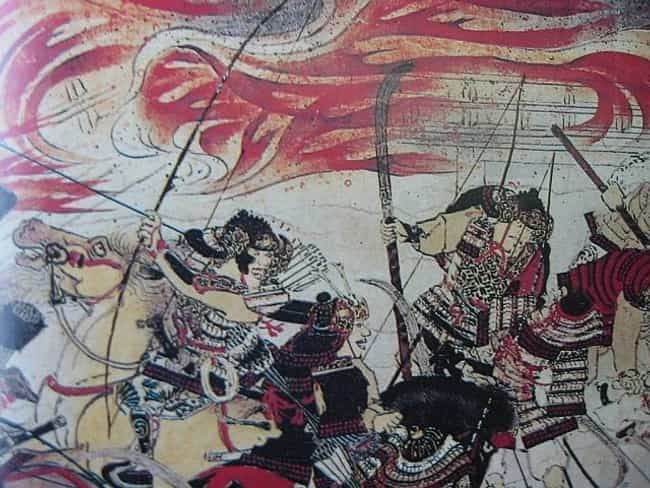 Heiji Rebellion is listed (or ranked) 3 on the list List Of Heian period Battles