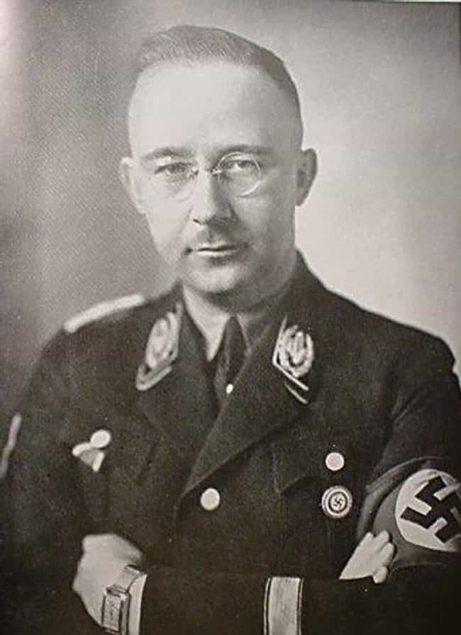 Heinrich Himmler is listed (or ranked) 2 on the list Famous People Born in 1900
