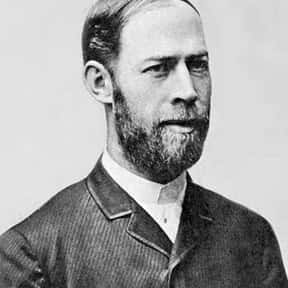 Heinrich Hertz is listed (or ranked) 14 on the list List of Famous Physicists