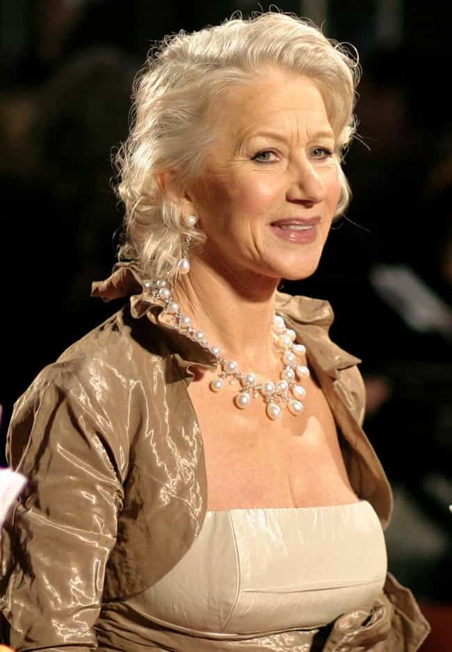 Helen Mirren is listed (or ranked) 7 on the list Stunning Celeb Women Over 60