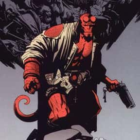 Hellboy is listed (or ranked) 1 on the list The Coolest Comic Characters That Aren't Superheroes