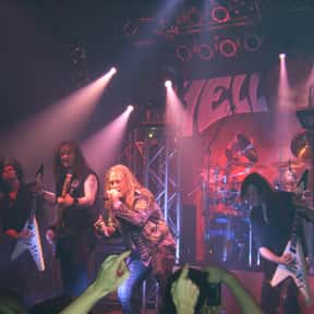 Helloween is listed (or ranked) 6 on the list List of Famous Bands from Germany