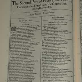 Henry IV, Part 2 is listed (or ranked) 22 on the list William Shakespeare's Plays