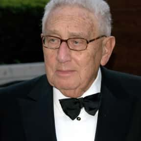 Henry Kissinger is listed (or ranked) 3 on the list Famous People Named Henry