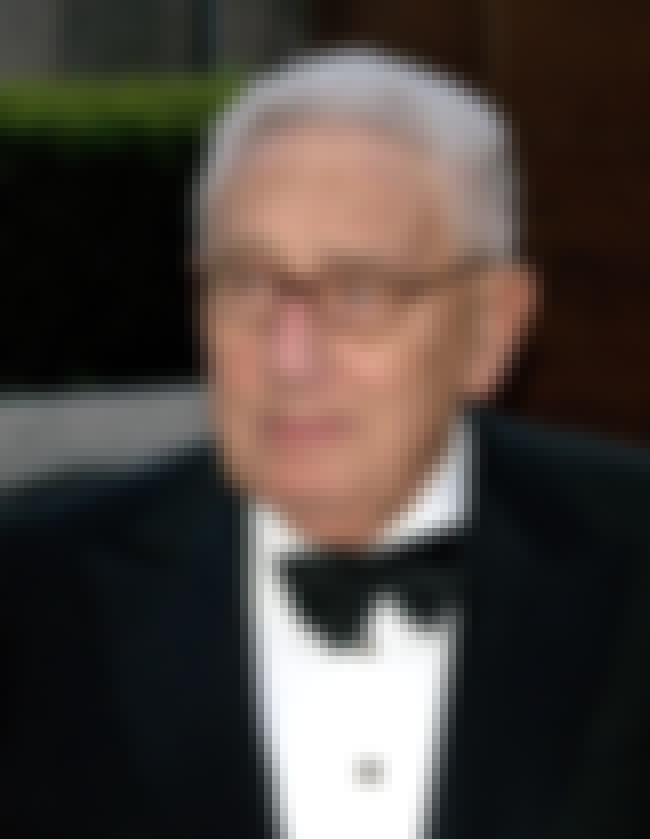 Henry Kissinger is listed (or ranked) 7 on the list List of Famous Soldiers