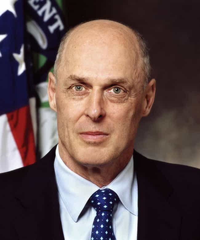 Henry Paulson is listed (or ranked) 4 on the list Famous Barrington High School Alumni