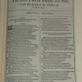 Henry VI, Part 3 is listed (or ranked) 37 on the list William Shakespeare's Plays