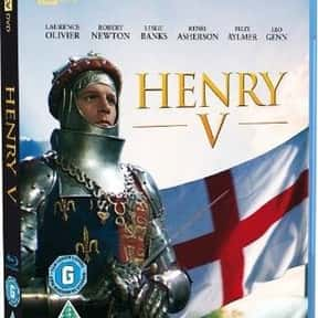 Henry V is listed (or ranked) 15 on the list The Best Shakespeare Film Adaptations