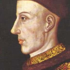 Henry V of England is listed (or ranked) 25 on the list Famous People Named Henry