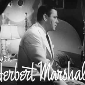 Herbert Marshall is listed (or ranked) 8 on the list Full Cast of The Secret Garden Actors/Actresses