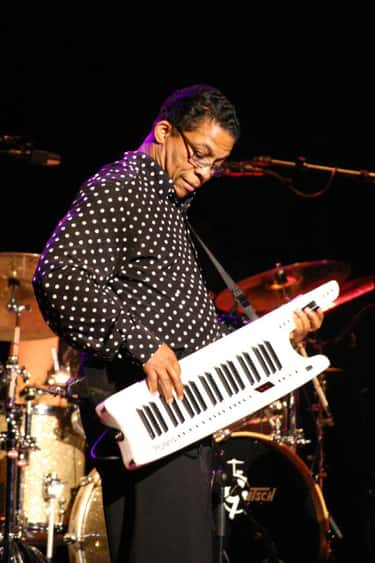 Herbie Hancock is listed (or ranked) 1 on the list Famous Male Jazz Musicians