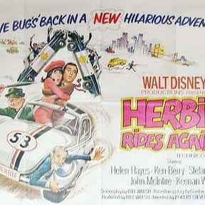 Herbie Rides Again is listed (or ranked) 23 on the list The Best Disney Live-Action Movies