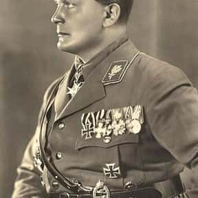Hermann Göring is listed (or ranked) 25 on the list List of Famous Army Officers
