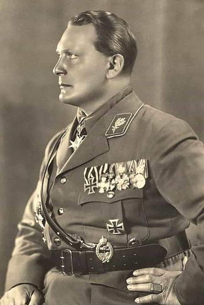 Hermann Göring is listed (or ranked) 4 on the list Famous People Born in 1893