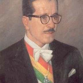 Hernán Siles Zuazo is listed (or ranked) 4 on the list Famous People From Bolivia
