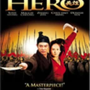 Hero is listed (or ranked) 1 on the list The Best Wuxia Movies