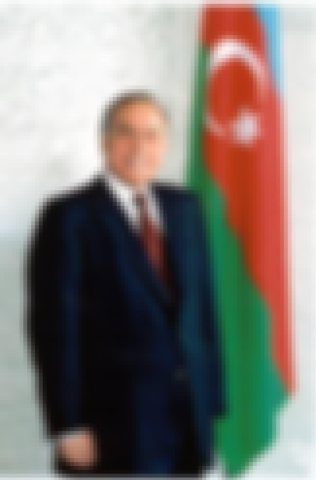 Heydar Aliyev is listed (or ranked) 2 on the list Famous Baku State University Alumni