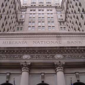 Hibernia National Bank is listed (or ranked) 14 on the list Companies Founded in 1870