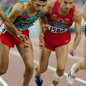 Hicham El Guerrouj is listed (or ranked) 4 on the list Famous Athletes from Morocco