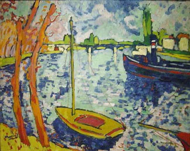 The River Seine at Chato... is listed (or ranked) 4 on the list Famous Maurice de Vlaminck Paintings