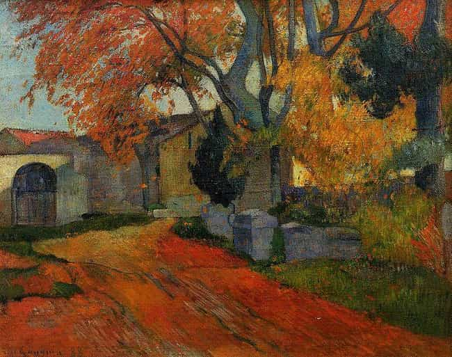 L'Allee des Alyscamps is listed (or ranked) 1 on the list Famous Landscape Arts by Paul Gauguin